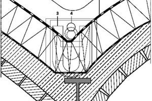 Detail Gewölbekonstruktion, M 1:17,5