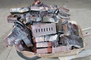 Ringofenklinker im Reduktionsbrand gedämpft
