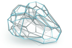 In einem iterativen Prozess entwickelte ROK schrittweise eine Methode, die mehrfach gekrümmte Flächen in planen Ebenen beschreibt