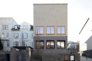 Ebenfalls in Bonn und von Uwe Schröder: das Galerie- und Atelierhaus (Bonn, 2009-201)