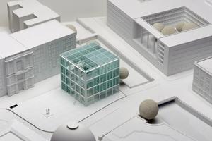 2. Preis: Kaspar Kraemer Architekten, Köln, Modell