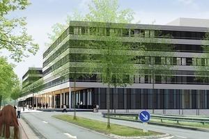 Ersatzneubau der Universität Bielefeld-Fertigstellung 2013<br />