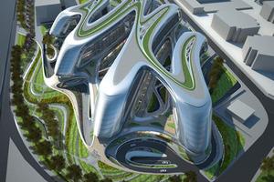 Soho Building in Hongqiao - Zaha Hadid Architects