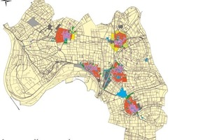 Flächennutzungsplan Riedstadt mit Zuordnung der energetischen Homogenbereiche
