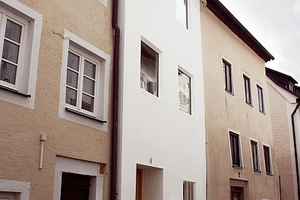 Anerkennung: Sanierung eines kleinen, schmalen Altstadthauses in Pappenheim aus dem 18. Jahrhundert von Architekt Michael Aurel Pichler