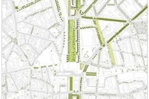Masterplanung, André Poitiers Architekt Stadtplaner RIBA in Kooperation mit arbos Freiraumplanung