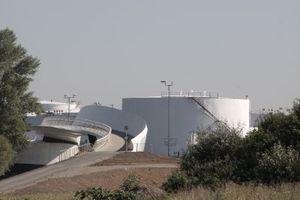 Auffahrt West (links nicht im Bild: der Main)