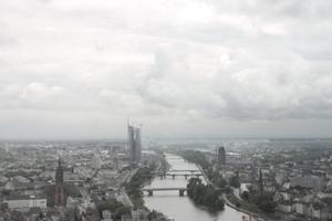 Sein Meisterwerk in Hessen: der EZB-Tower am Ost-End der Bankencity Frankfurt