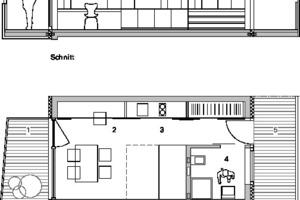 Detail Appartement, M 1:125