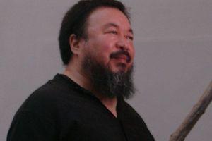 Der Künstler und Regimekritiker Ai Weiwei 2008 auf der Architekturbiennale Venedig