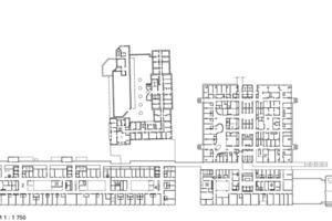 Grundriss 2. Obergeschoss, M 1:1750<br />