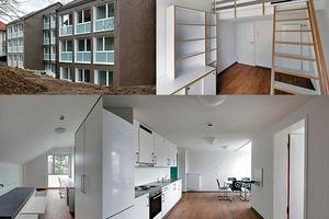 Studentenwohnheim in Stuttgart mit neuen Energie- und Nutzungskonzepten