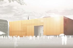 Wettbewerbsbeitrag van Gerkan, Marg und Partner Architekten