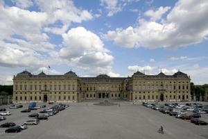 Würzburger Residenz, Gastgeberin unseres Kongresses und ein Hauptwerk Balthasar Neumanns