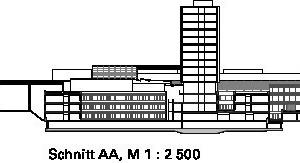 Schnitt AA, M 1:2500