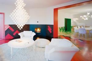 Das Apartment bietet Platz für eine vierköpfige Familie und besitzt zusätzlich ein Gästestudio<br />