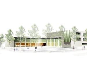 BU1:Gymnasium in Frankfurt Riedberg<br />
