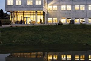 Das Referenzgebäude für den Testbetrieb <br />