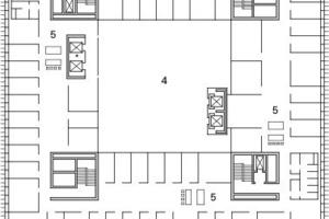 """<div class=""""10.6 Bildunterschrift"""">2. Obergeschoss, M 1:750</div>"""