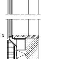 Detail Fensteranschluss, M 1:33 <sup>1</sup>/3