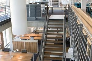 Das Gebäude ist hochflexibel, praktisch ohne innere Grenzen<br />