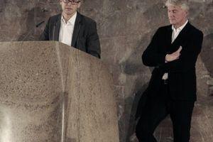 Dankworte der Architekten Ray Brown von Architectus und Christoph Ingenhoven von ingenhoven architects.