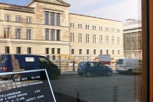 """Zweimal Chipperfield: Das Neue Museum im Schaufenster der Galerie """"Am Kupfergraben 10""""<br />"""