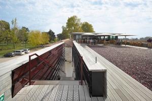 Die Dachterrasse wird für Verkostung und Events genutzt