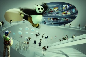 Comic-Museum in China, Lobby<br />