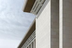 Detail der Ostfassade<br />