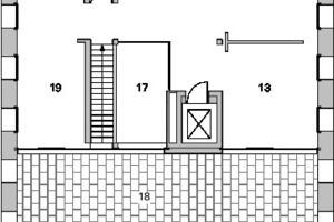 Grundriss 4. Obergeschoss, M 1:250