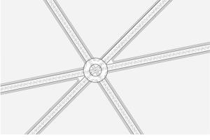 Detail Knotenpunkt, M 1:10