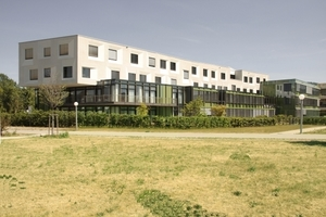 """Auf der Shortlist (Kategorie """"Health Buildings""""): National Centre for Tumour Diseases (NCT) Heidelberg, Behnisch Architekten"""
