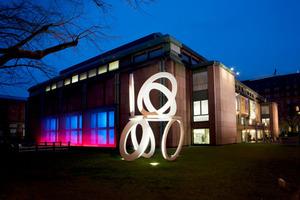 Kunsthalle Mannheim, Mitzlaff-Bau bei Nacht