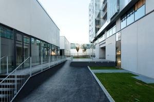 Eingang und Ateliers<br />