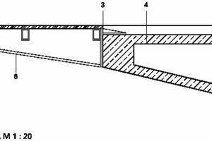 Detailpunkt B, M 1:20