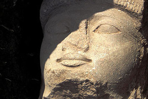 Ramses Statue in Tell Basta