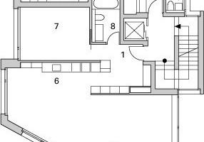 Grundriss 2. Obergeschoss, M 1:250<br />