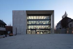 Entrée und Stadtfenster zugleich: Orientierung zum neuen Platz<br />