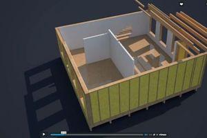 3D-Modelle veranschaulichen die Bauweise des Gebäudes