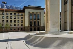 Dank der Umgestaltung des Platzes sind die verschiedenen Denkmäler nun im Stadtgefüge miteinander verbunden