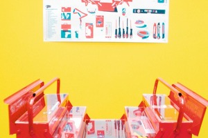 Do it yourself: Ein Werkzeugkasten stellt das Nötigste bereit; brauchen wir das Bauhaus noch?<br />
