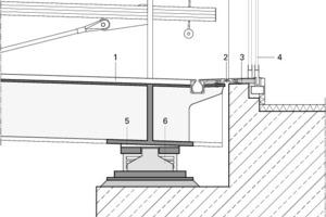 Detail Auflager (Center), M 1:25<br />