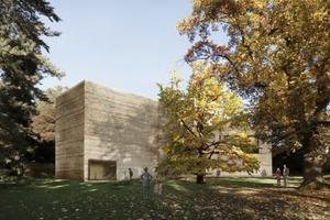 Haus für Kunst, Sicht aus dem Iselin-Weber-Park