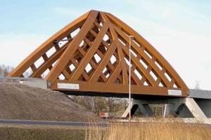 Holzbrücke bei Sneek