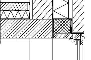 Detail Fenster, M 1:12,5