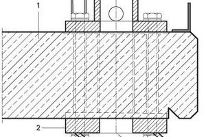 Detail Spiralhalterung, M 1:5