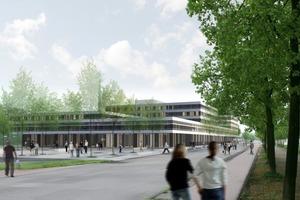 BU15: Ersatzneubau der Universität Bielefeld-Fertigstellung 2013<br />