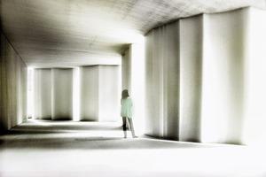 Mit den skulpturalen Wandelementen lassen sich plastische Räume gestalten