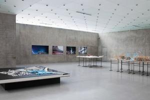 Nationalstadion. Hauptstadion für die Olympischen Spiele 2008. Jindong Development Area, 2003 – 2006, Herzog &amp; de Meuron in Zusammenarbeit mit Ai Weiwei (Ausstellungsansicht 1. OG, Kunsthaus Bregenz)<br />